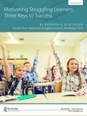 Motivating Struggling Learners: Three Keys to Success Snapshot Cover