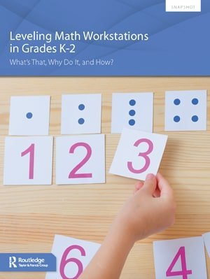 Snapshot Leveling Math Workstations in Grades K-2 Cover