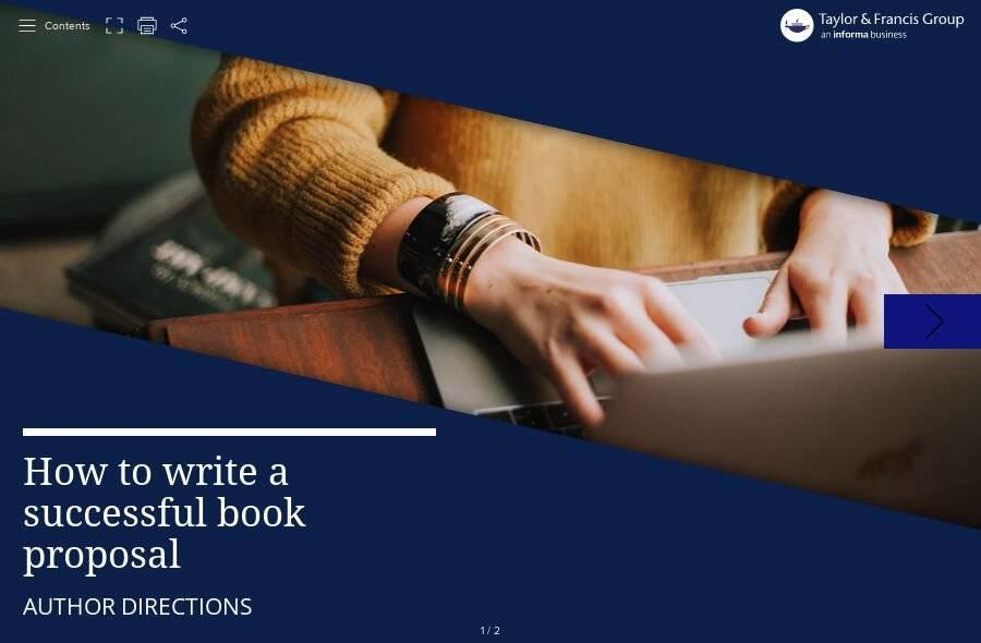 Author Directions: How to write a successful book proposal