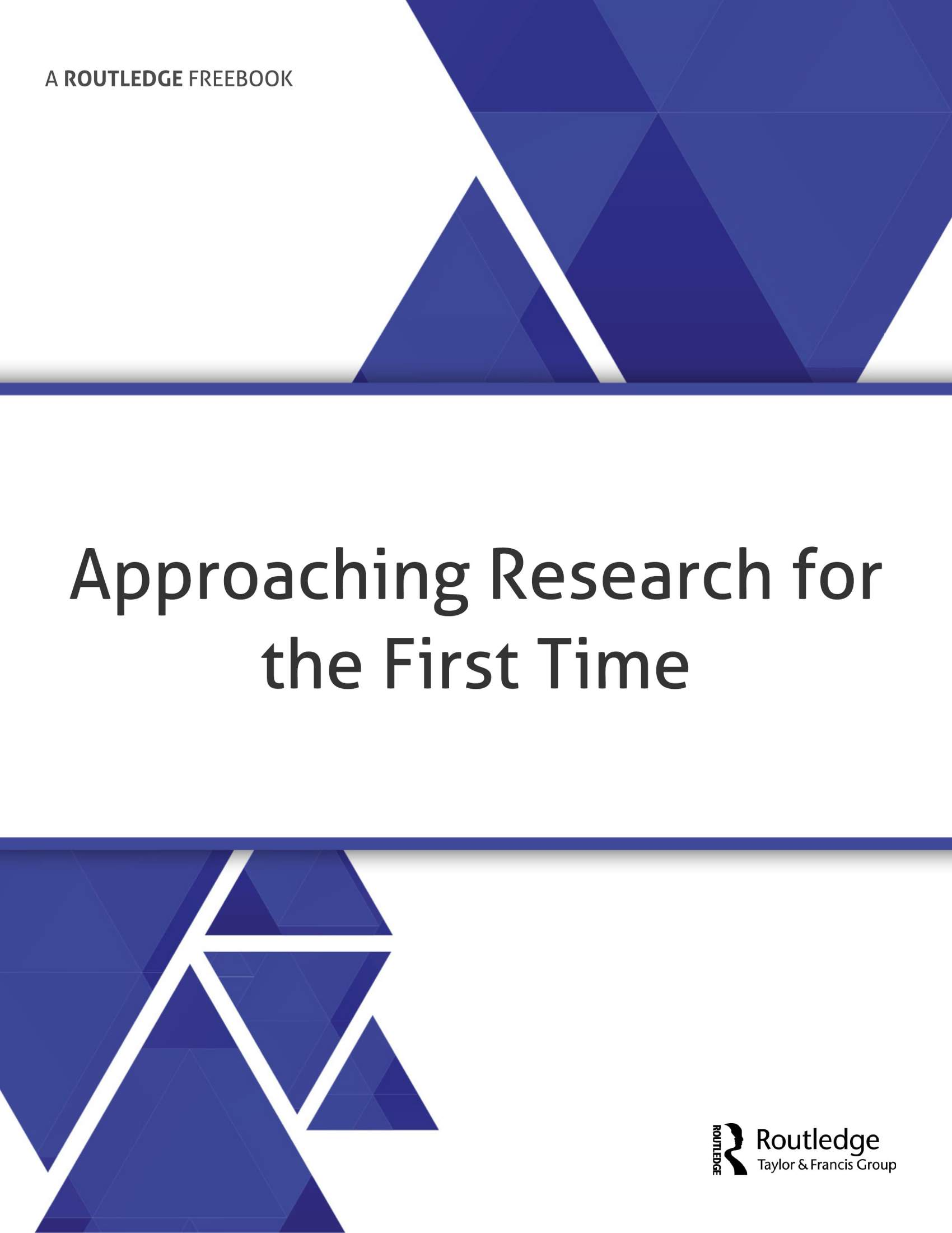 Approaching Research for the First Time