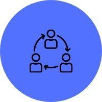 Open & Collaborative Icon