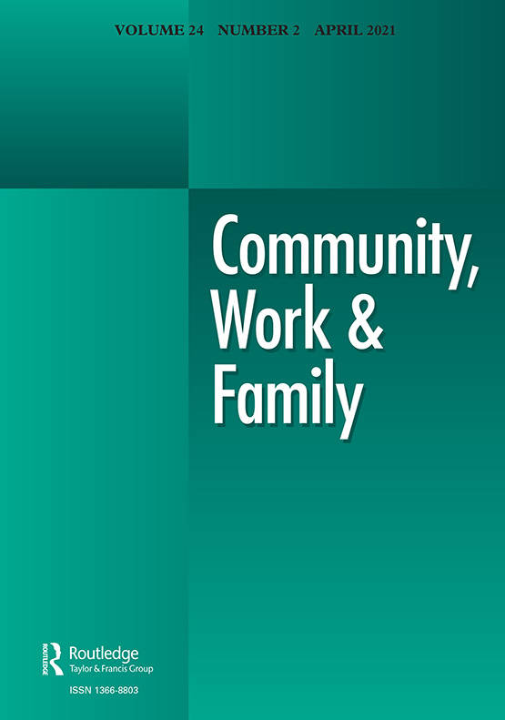 Community, Work & Family