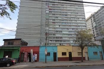 Gentrification in action in Santiago