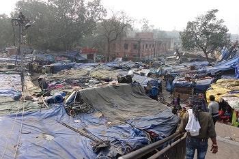 Informal urbanism as slums in Delhi