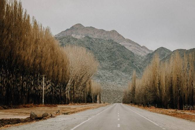 Long Road with Mountains by Diego Rezende_Pexels