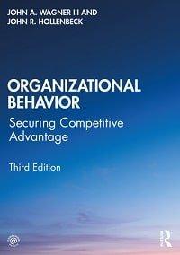 Organizational behavior book cover
