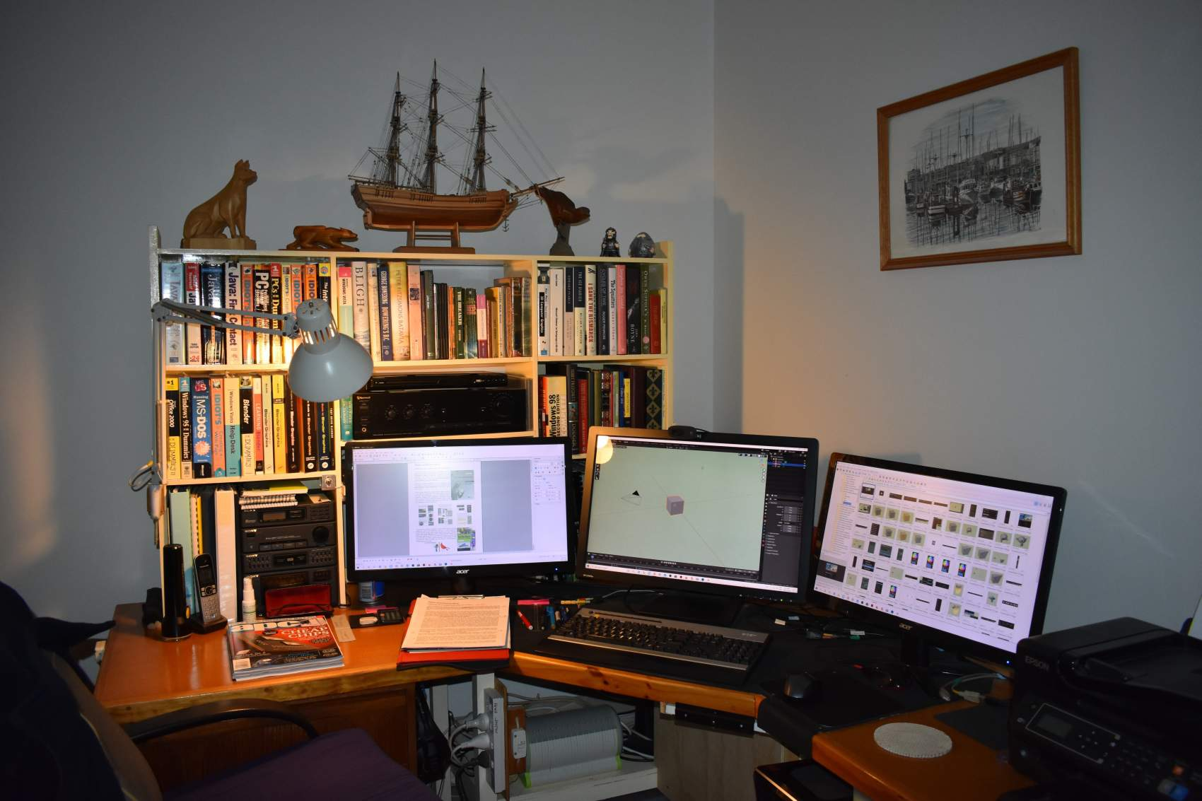 Computer Modeling and Animation programming workplace setup