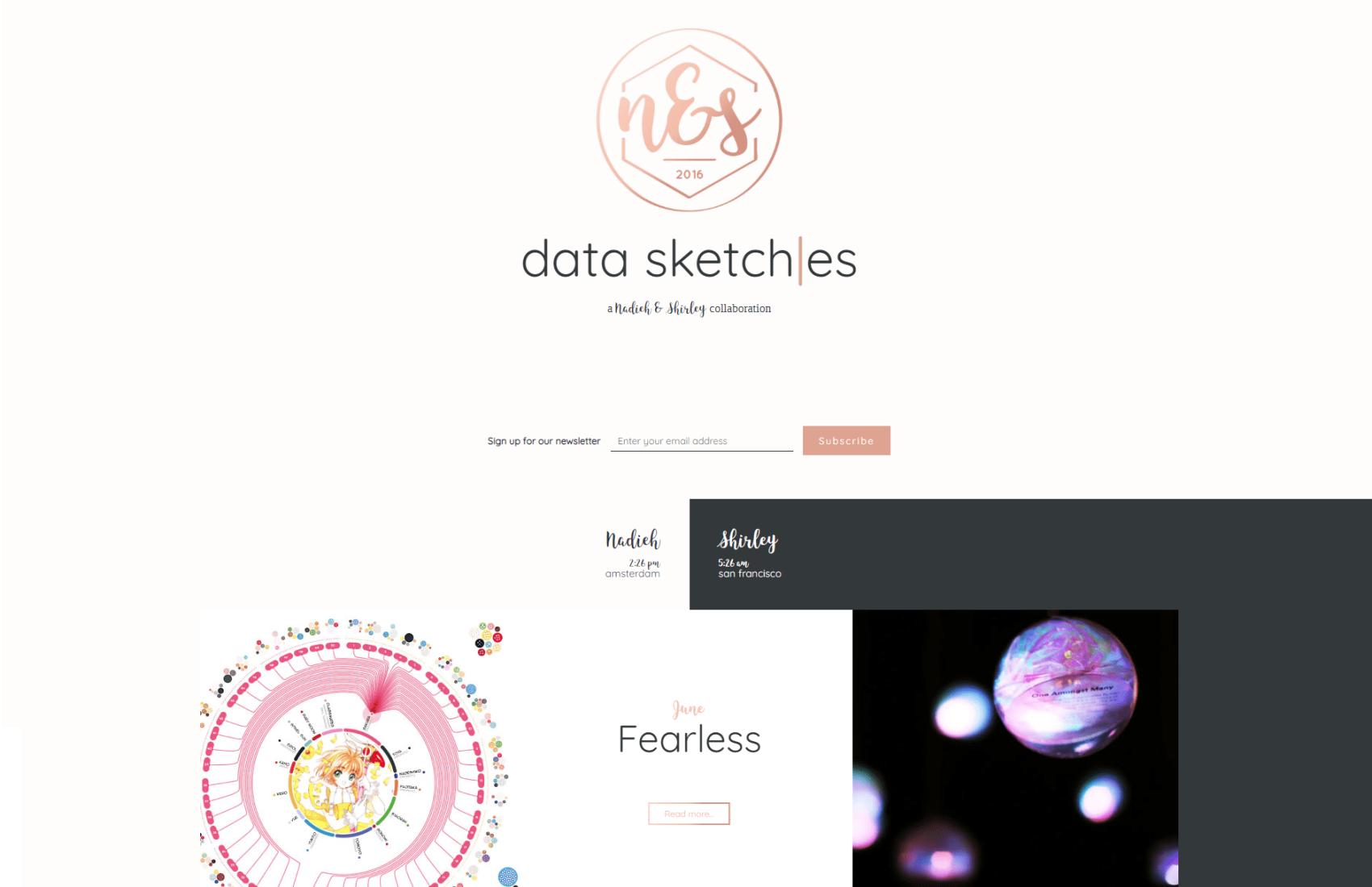 Data Sketches online