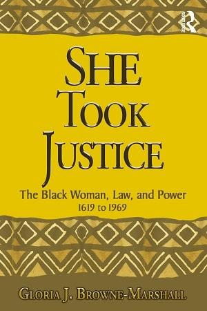 She Took Justice book cover
