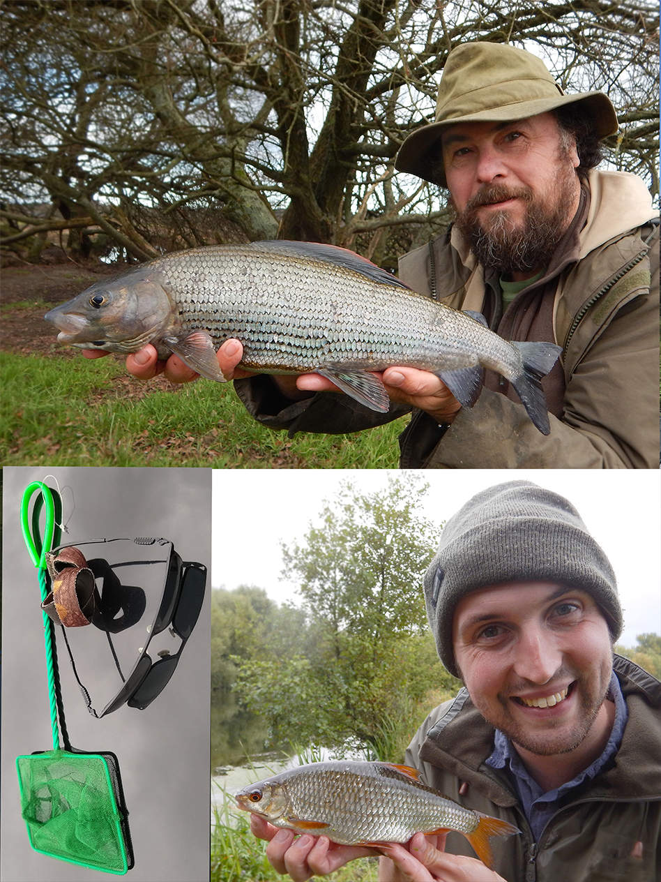 Mark and Jack passionate anglers as well as fish twitchers