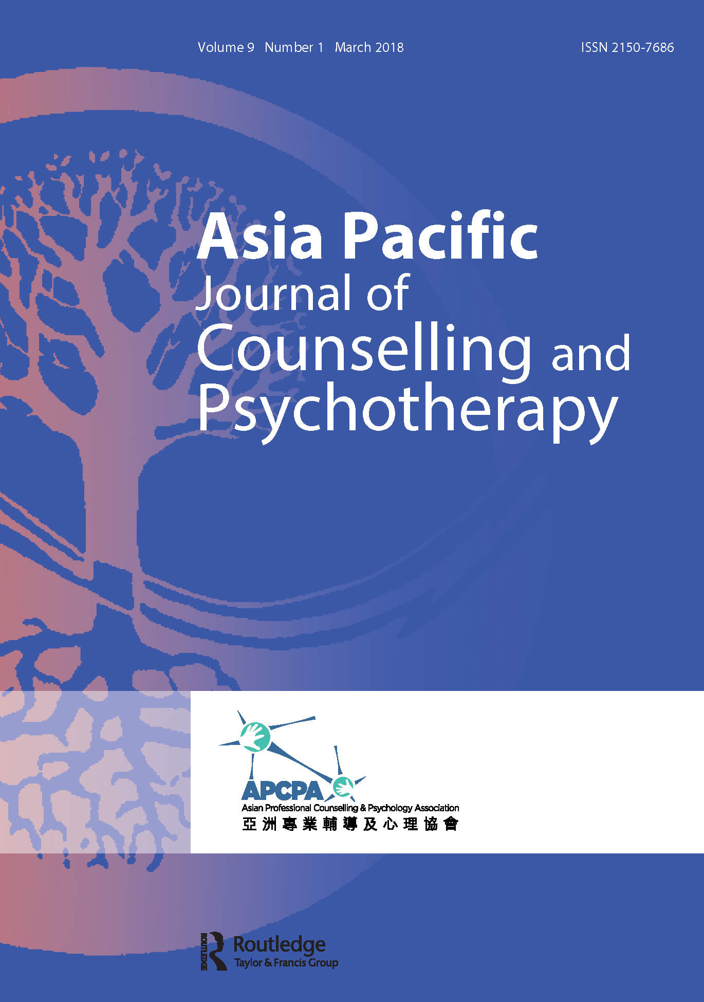Asia Pacific Journal of Counselling and Psychotherapy